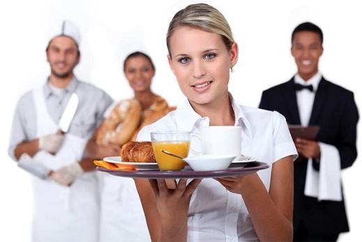 Для работников в сфере обслуживания, коммунальных услуг
