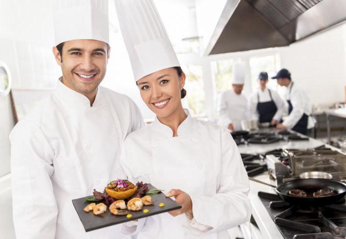 Для работников в сфере питания: повара, кондитеры, работники с мясом